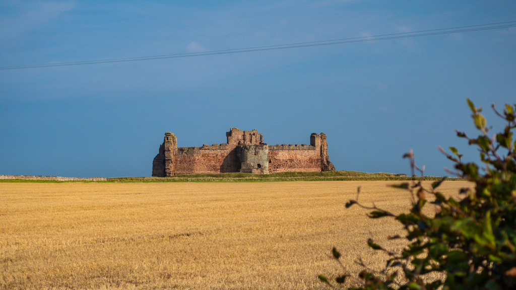 Tantallon Castle in North Berwick, Scotland Under The Skin Location