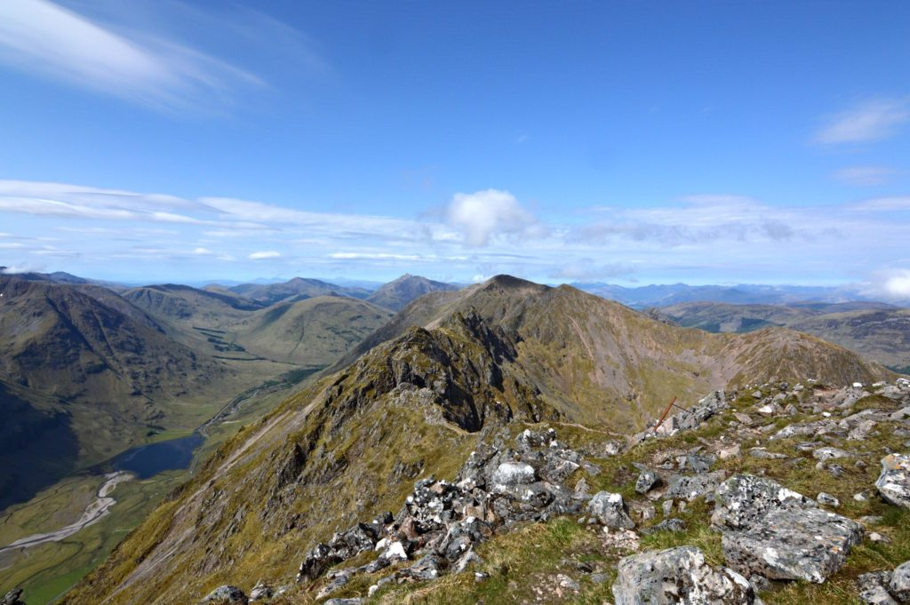 Am Bodach in the Mamores Mountains, Scotland Braveheart Filming Locations