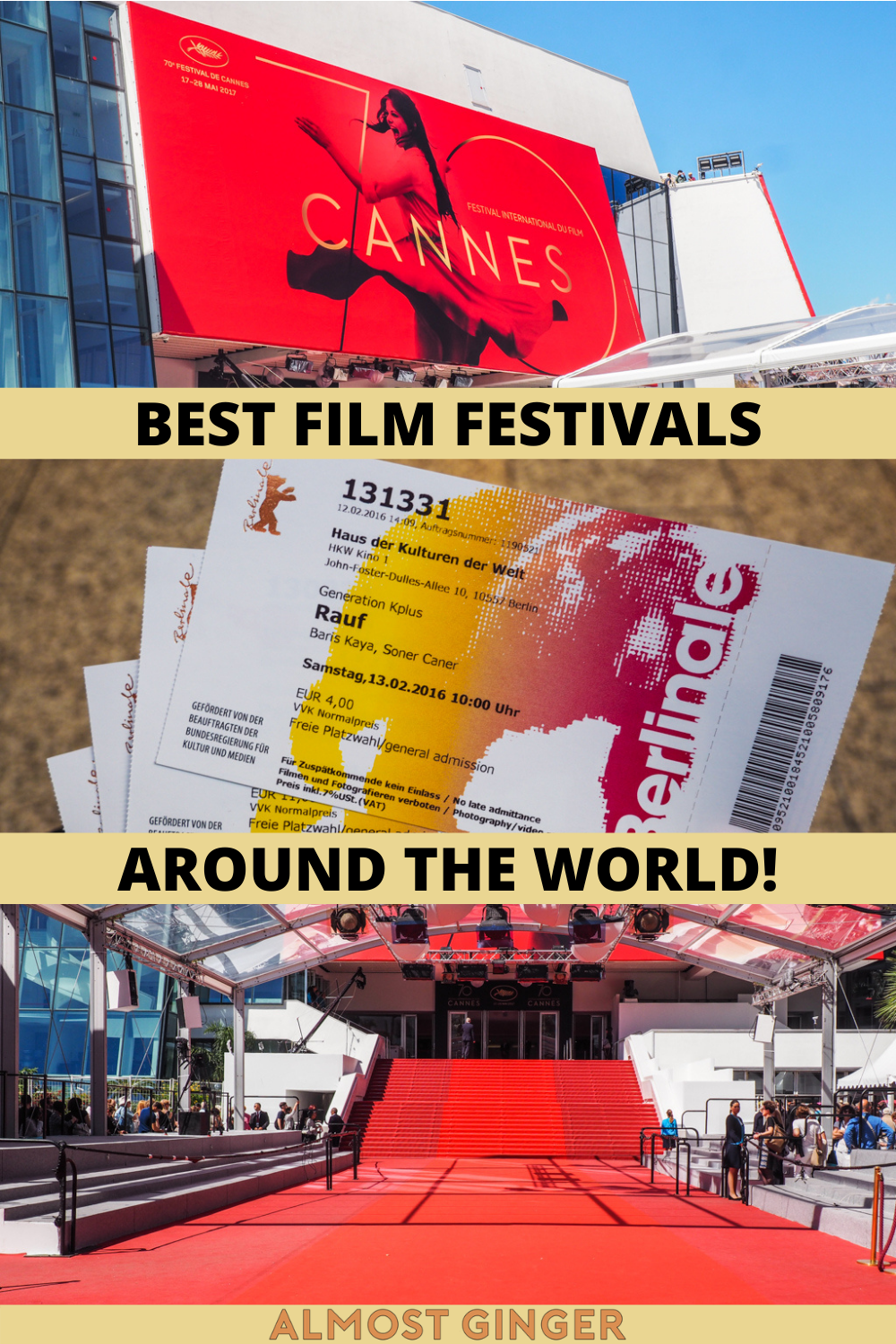 Best Film Festivals in the World for Cinephiles to Attend | almostginger.com