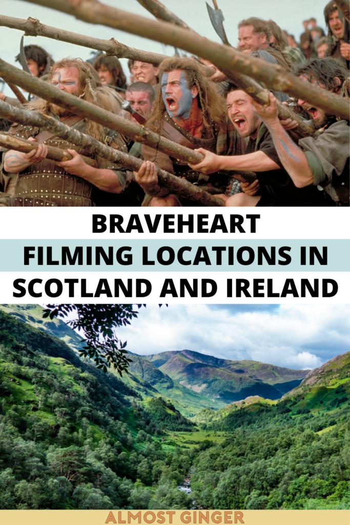Braveheart Filming Locations in Scotland & Ireland | almostginger.com