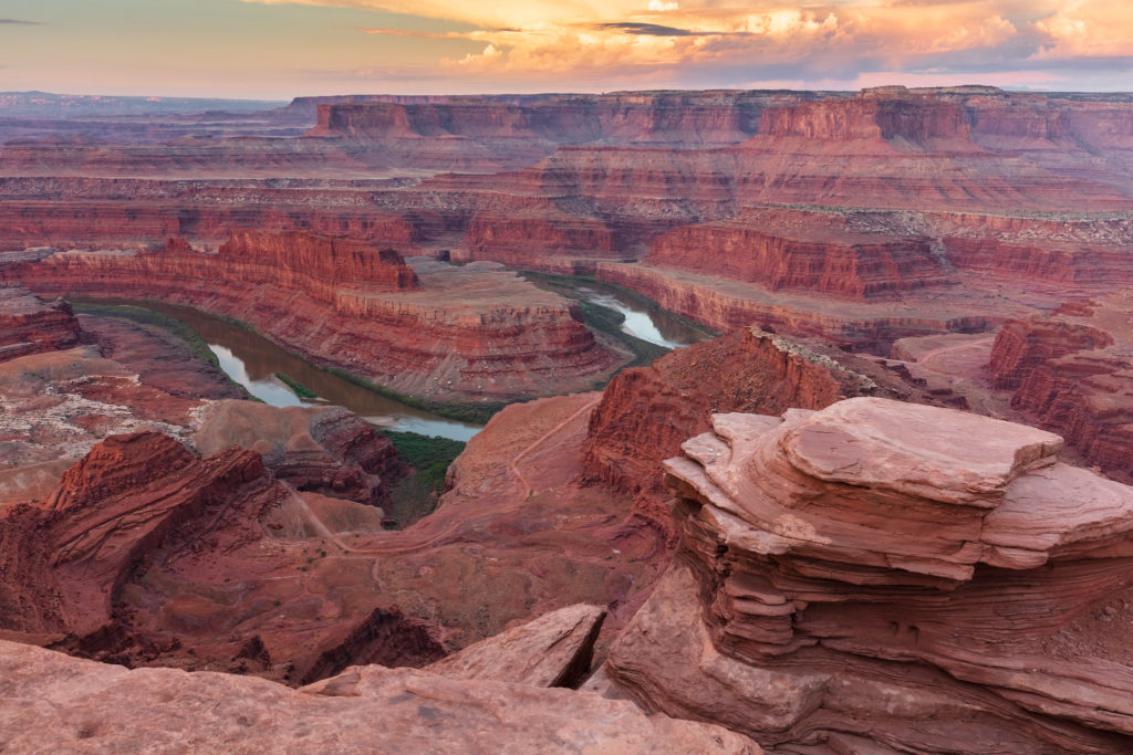 Famous Movie Location Dead Horse Point State Park in Utah, USA