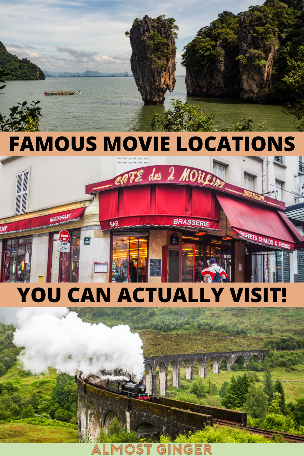 Famous Movie Locations You Can Actually Visit   almostginger.com
