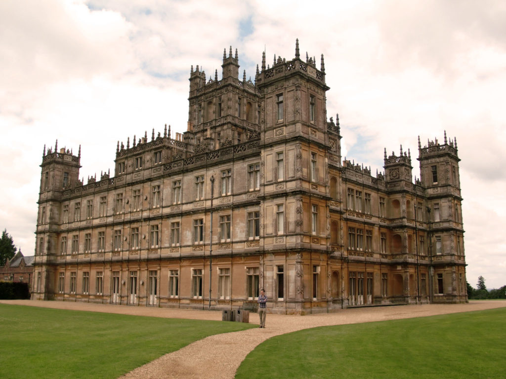 Famous Movie Location Highclere Castle in England