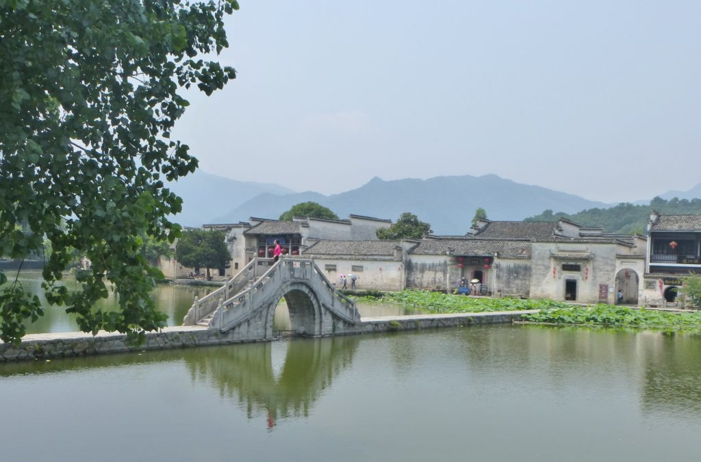 Iconic Film Location Hongcun Ancient Village in China