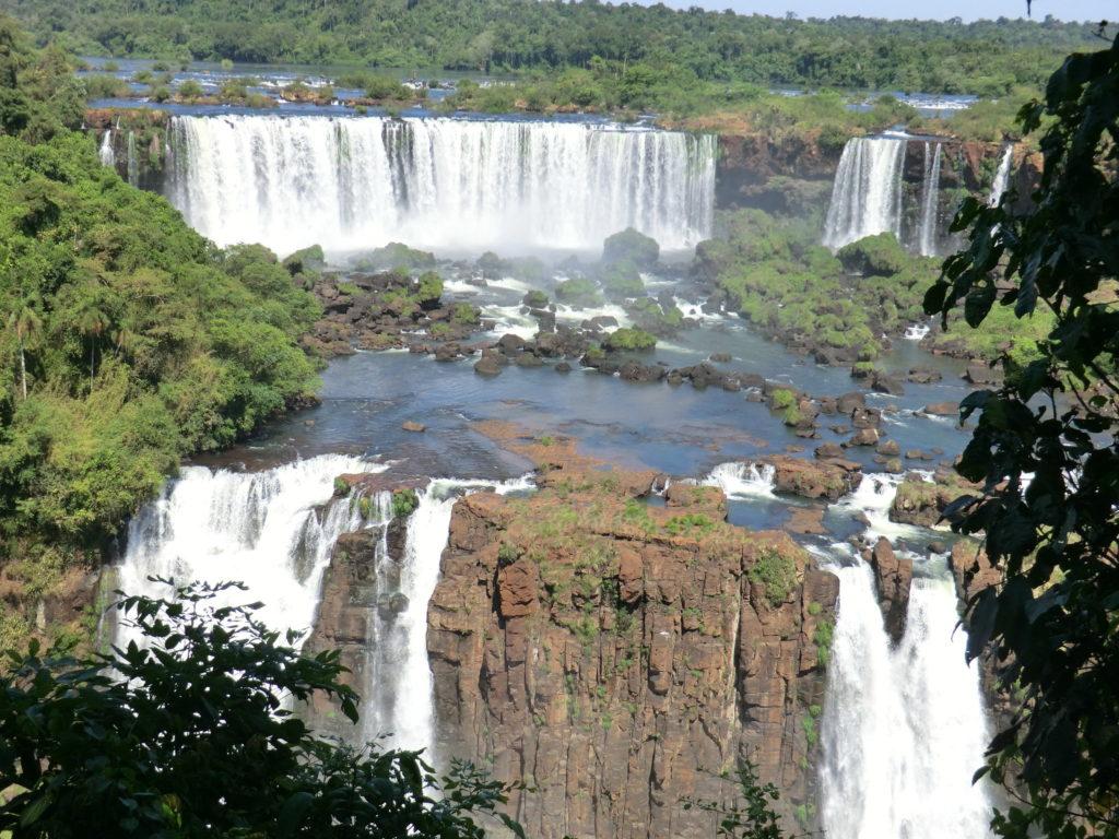 Famous Movie Location Iguazu Falls in Brazil and Argentina
