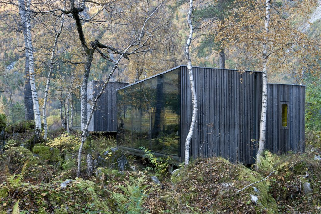 Famous Movie Location Juvet Landscape Hotel in Norway