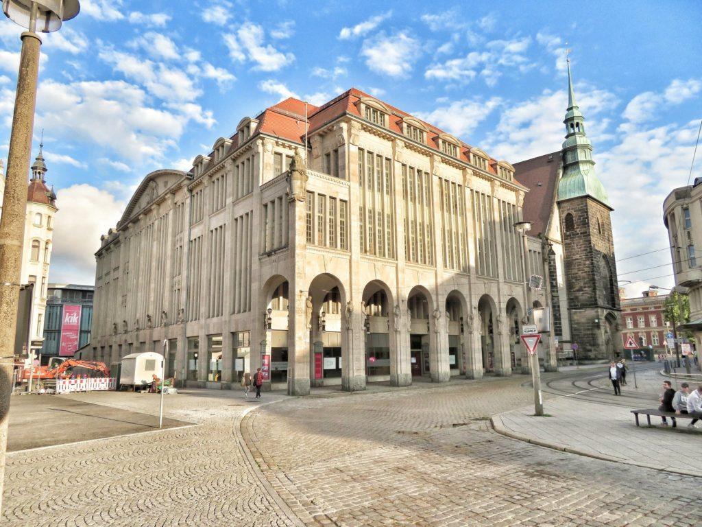 Kaufhaus Gorlitz Department Store in Gorlitz, Germany