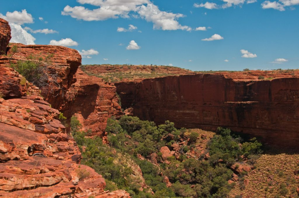 Famous Movie Locations King's Canyon in Australia