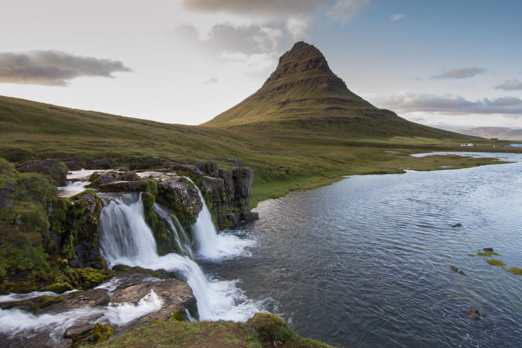 Kirkjufell Mountain in Iceland