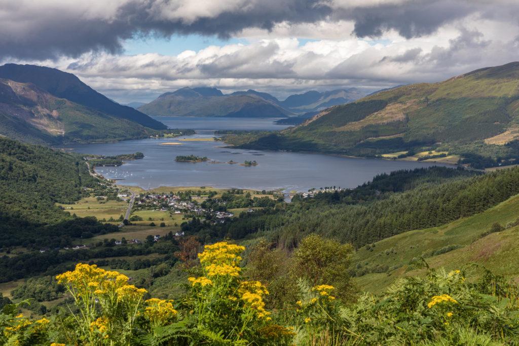 Loch Leven in Scotland Braveheart Filming Locations