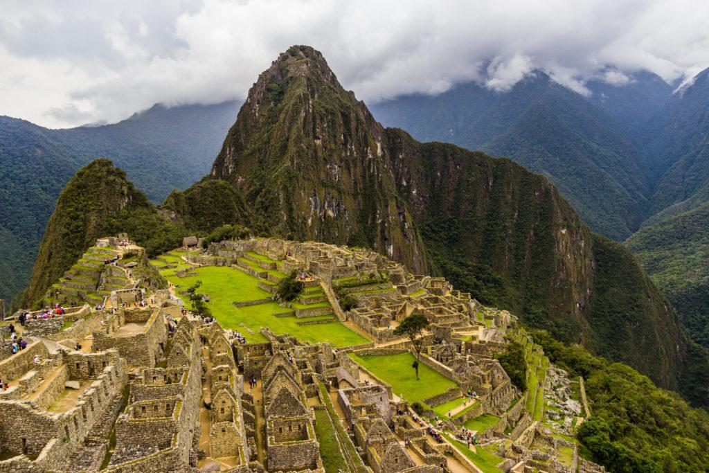 Famous Movie Location Machu Picchu in Peru