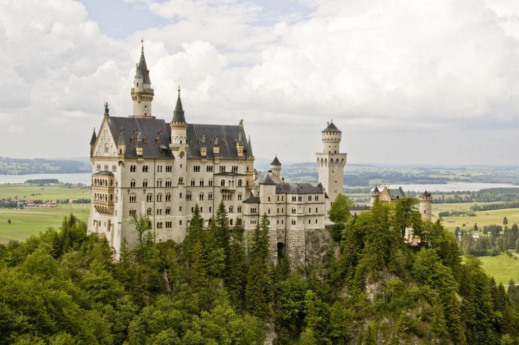 Famous Movie Location Neuschwanstein Castle in Germany