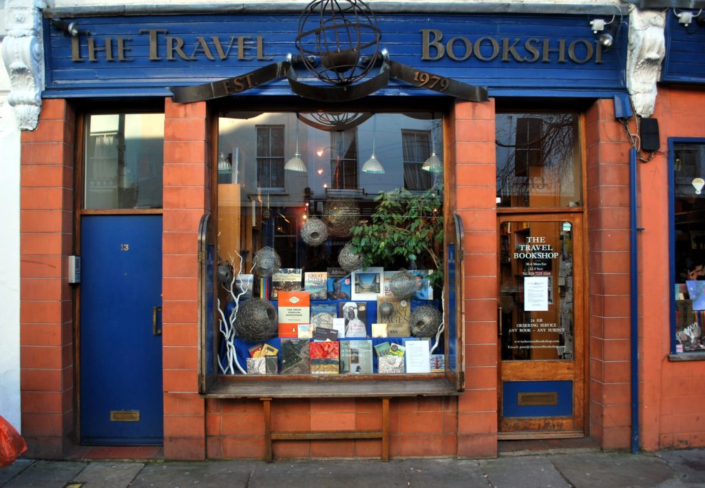 The Notting Hill Bookshop in London, England