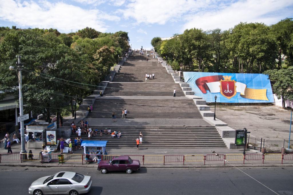 Potemkin Odesa Steps in Odesa, Ukraine