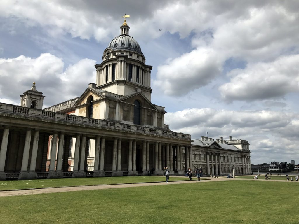 Famous Movie Location Old Royal Naval College in London, England