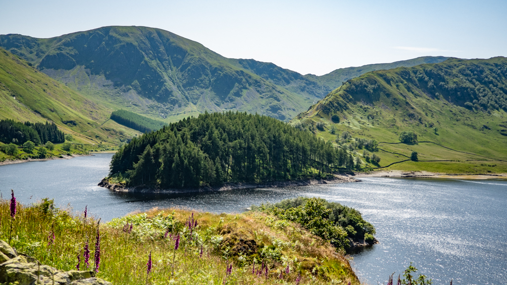 Famous Movie Location Haweswater Reservoir in the Lake District, UK