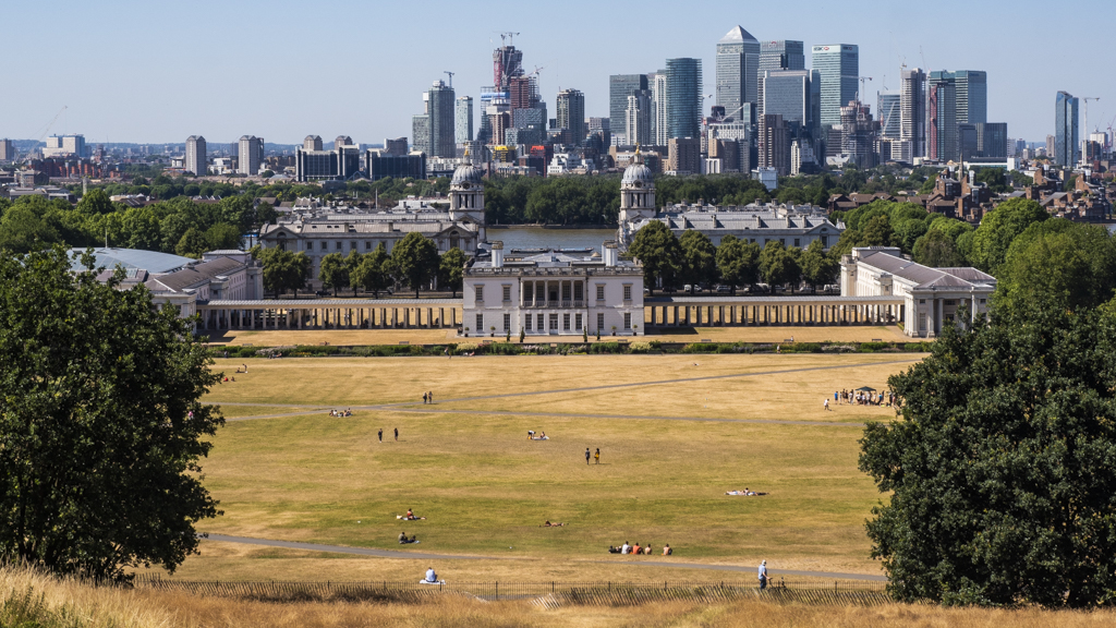 Greenwich Park in London, England