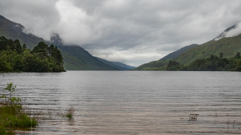 Loch Shiel in Glenfinnan, Scotland Highlander Filming Location