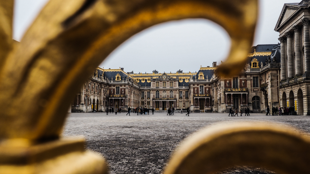 Famous Movie Location Palace of Versailles in France