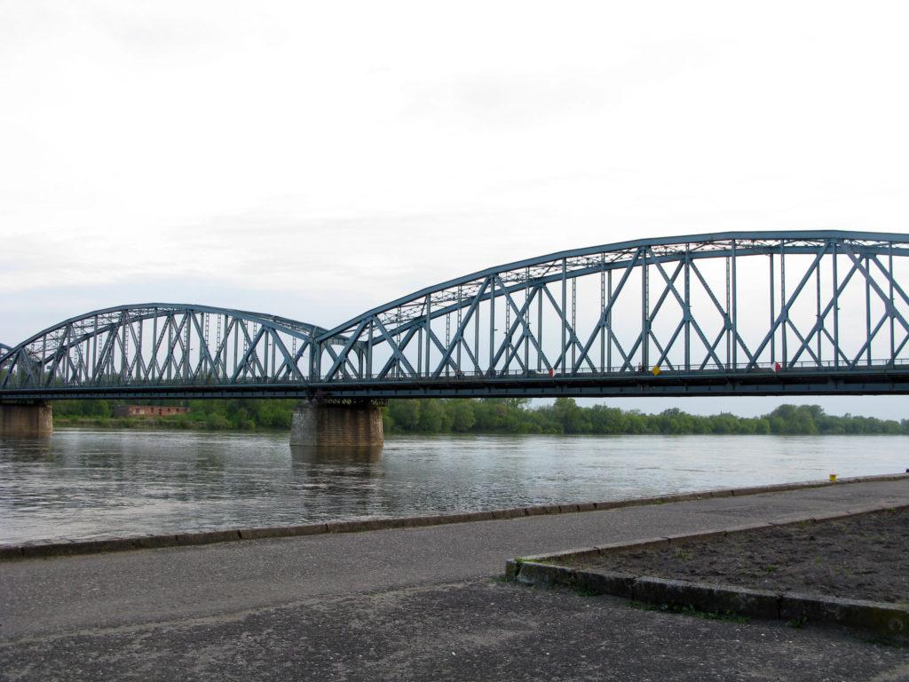 Famous Movie Location Pilsudskiego Bridge in Krakow, Poland