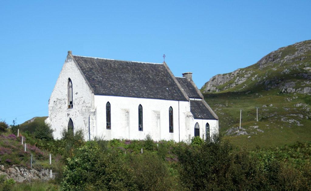 Polnish Chapel in Lochailort, Scotland