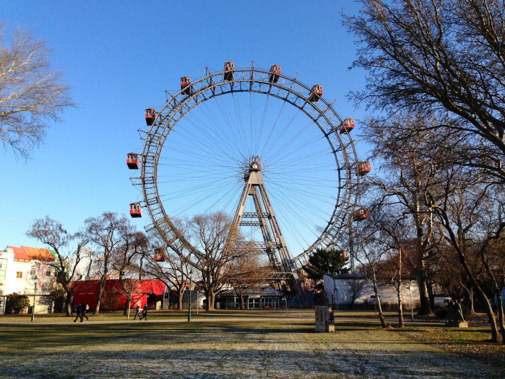 Famous Movie Location Riesenrad Ferris Wheel in Vienna, Austria