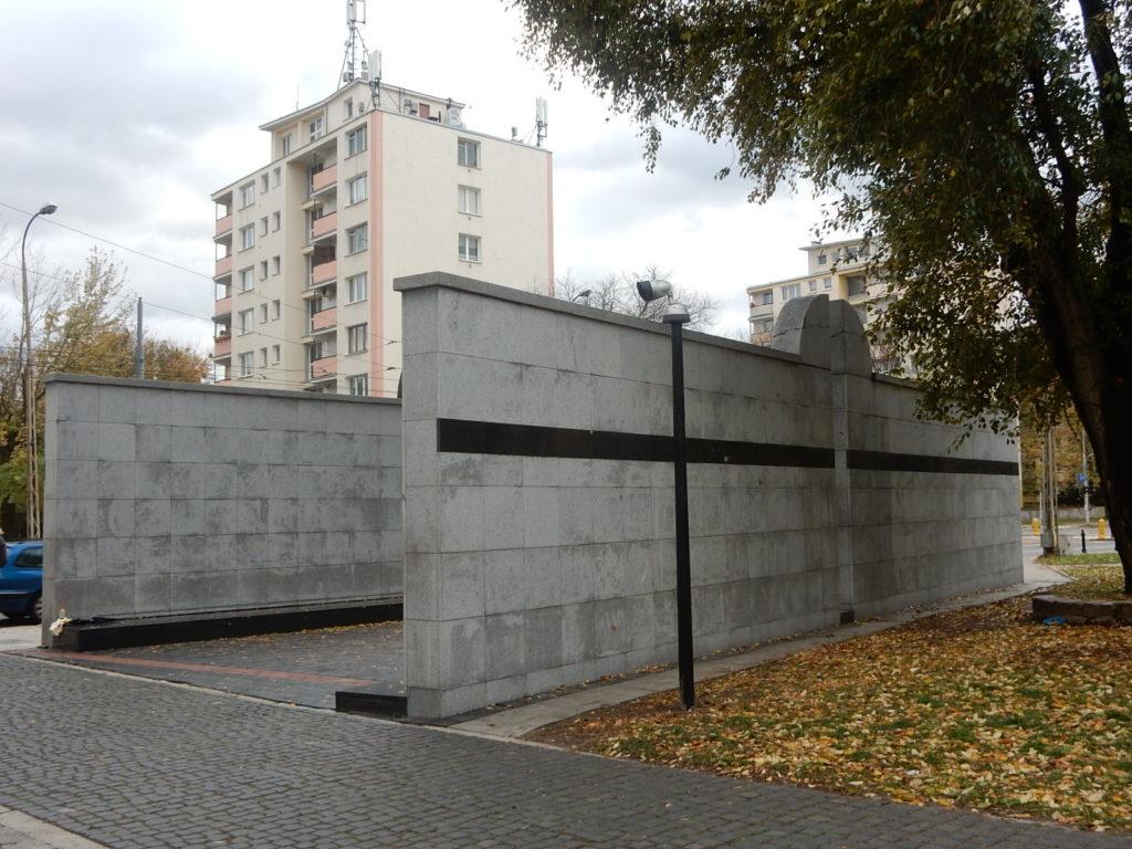Famous Movie Location Umschlagplatz in Warsaw, Poland
