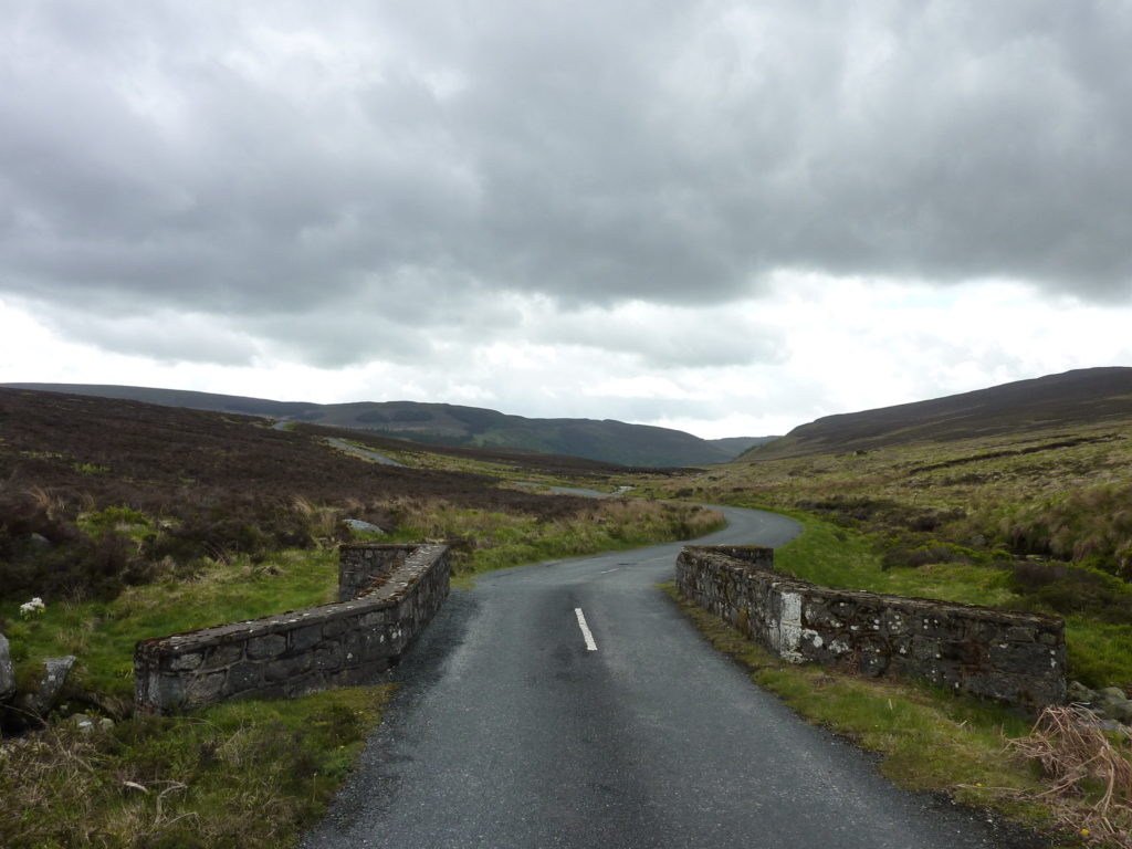 Famous Movie Locations Wickow Mountains in Co. Wicklow, Ireland