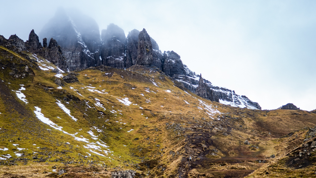 Old Man of Storr on the Isle of Skye in Scotland Snow White and the Huntsman Filming Location