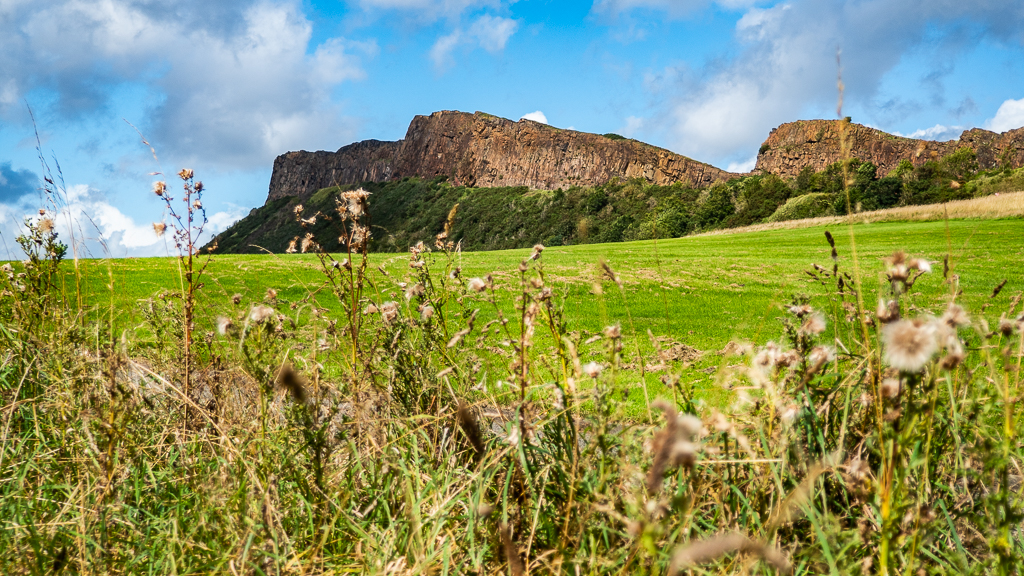 Holyrood Park in Edinburgh, Scotland Chariots of Fire Film Location