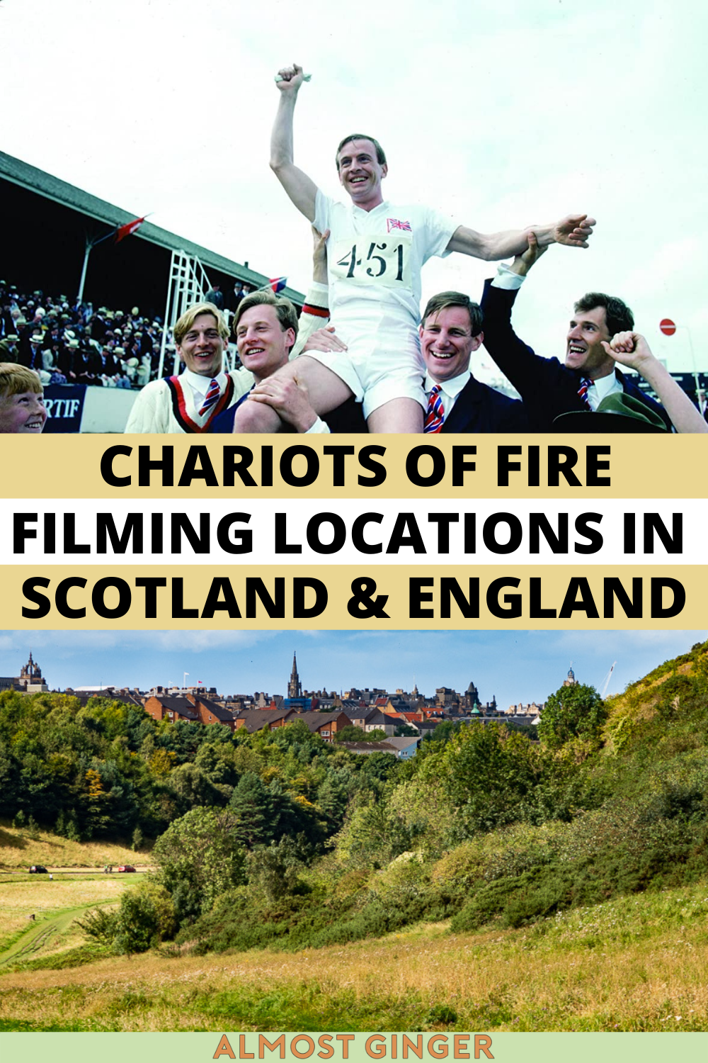 Chariots of Fire Film Locations in Scotland & England | almostginger.com