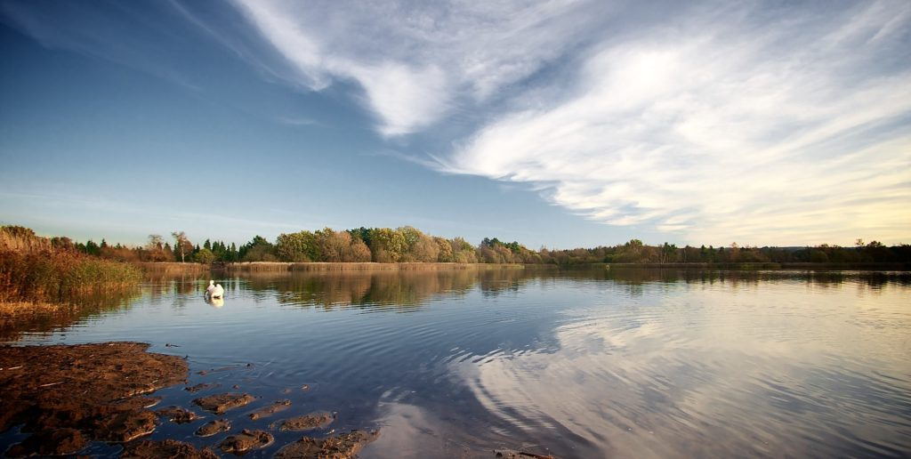 Frensham Great Pond in Farnham, Surrey in England Snow White and the Huntsman Filming Location
