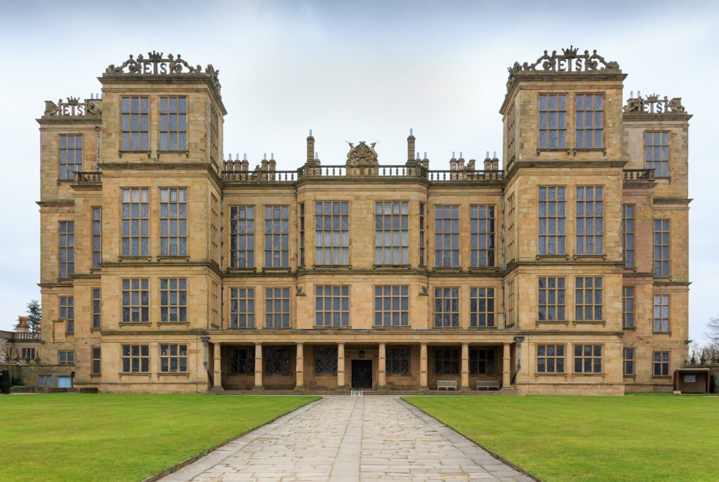 Hardwick Hall in Derbyshire, England Mary Queen of Scots Filming Location