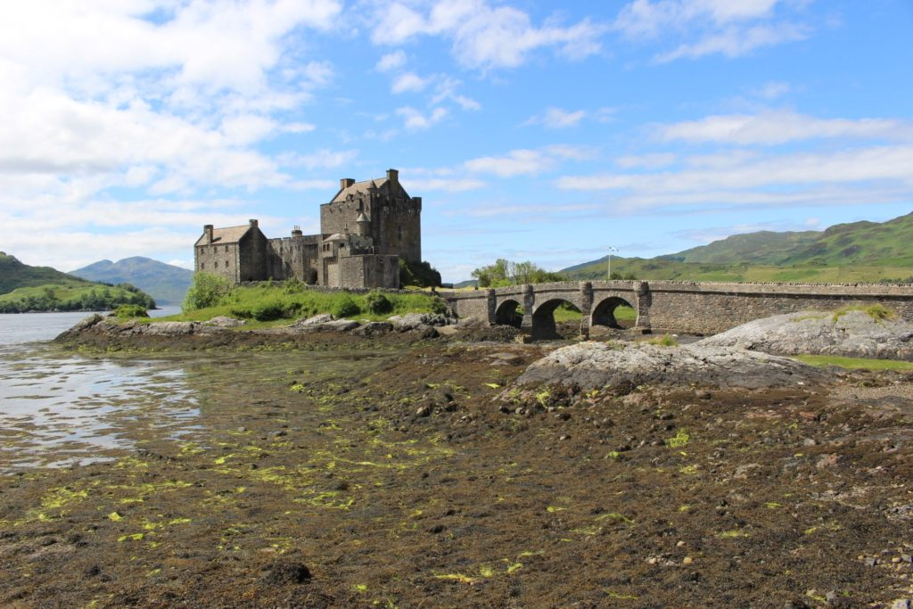 Eilean Donan Castle in Kyle of Lachalsh, Scotland Made of Honor Filming Location