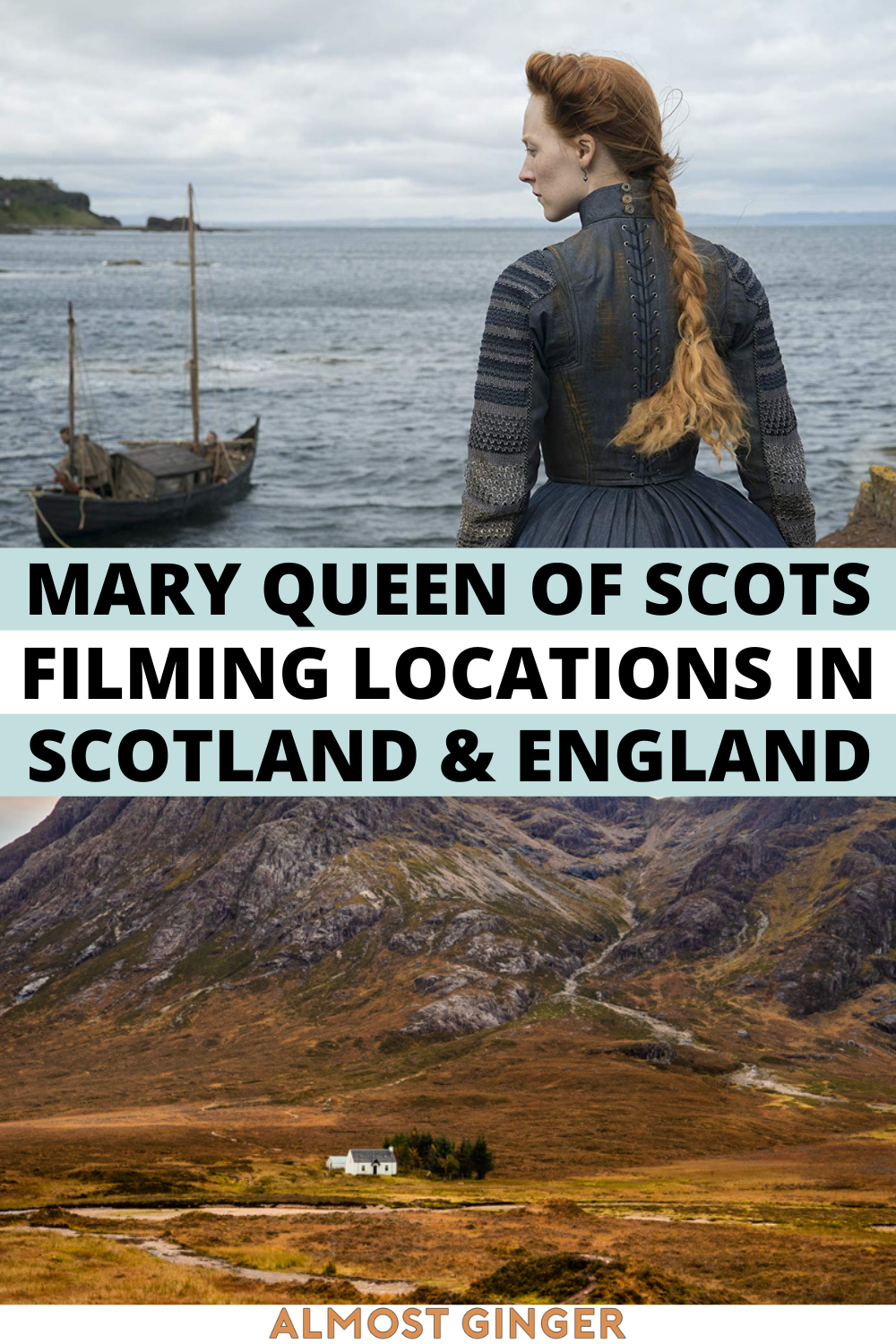 Mary Queen of Scots Filming Locations in Scotland & England | almostginger.com