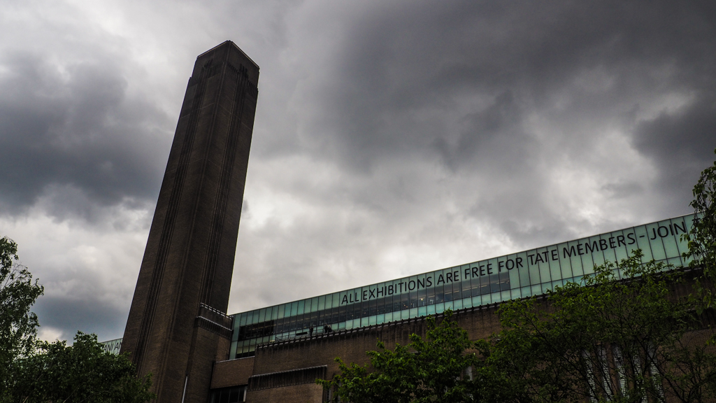 Tate Modern Art Museum in London, England