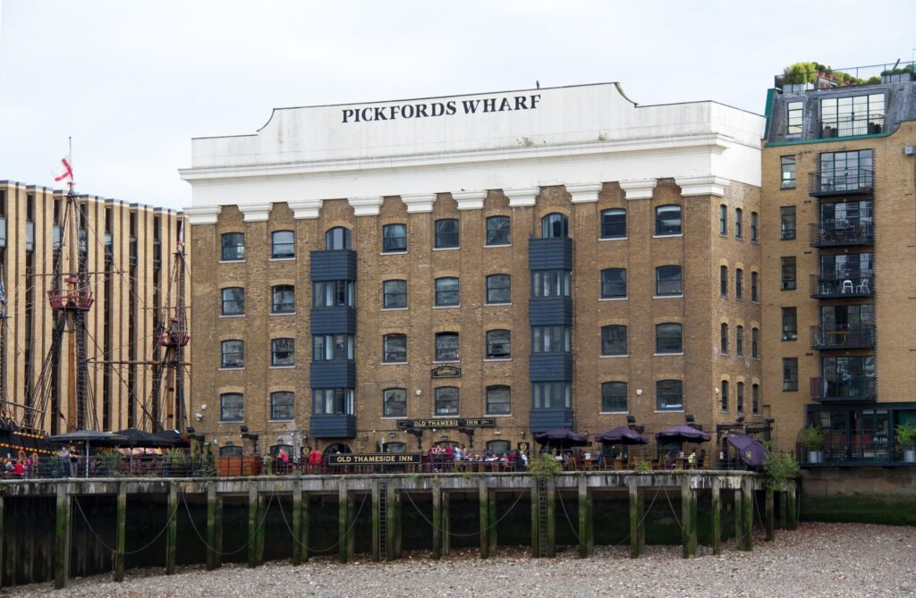 Pickfords Wharf Apartments in London, England