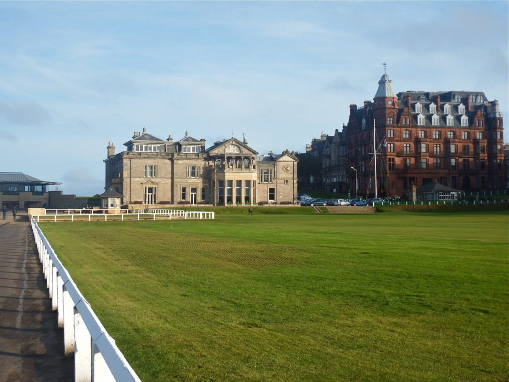 Royal and Ancient Golf Club in St Andrews, Scotland Chariots of Fire Film Location