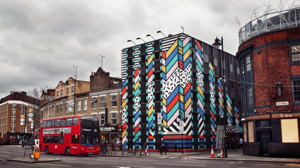 Shoreditch in London, England