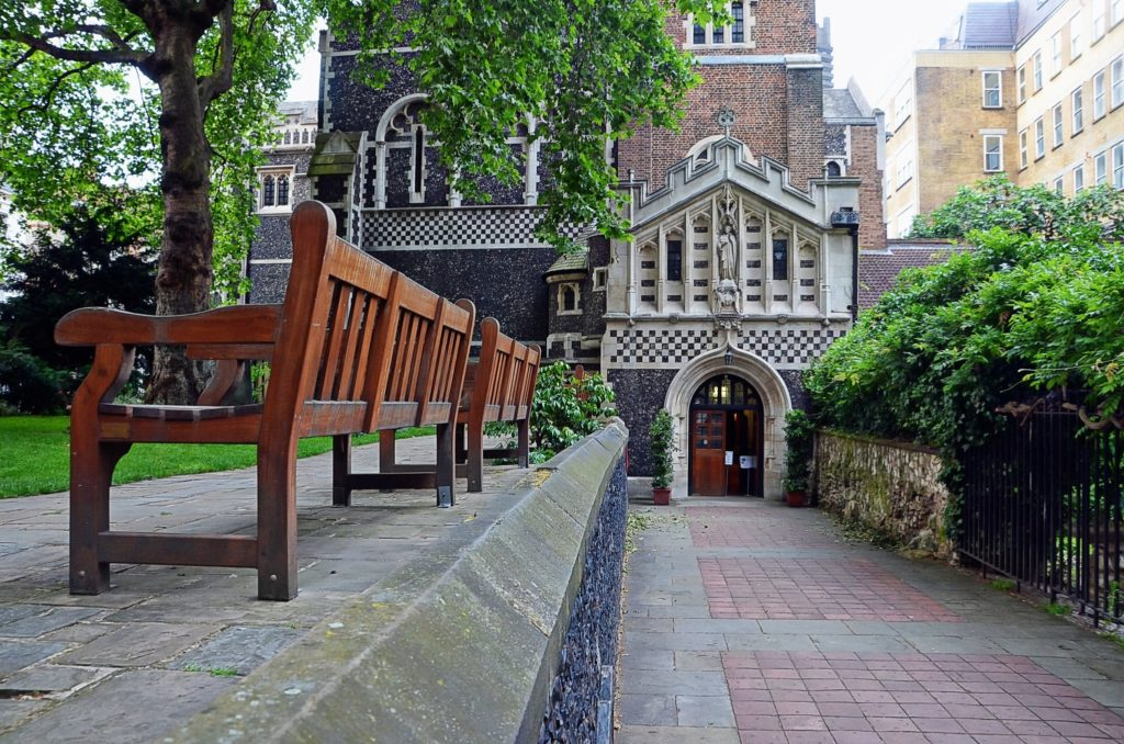 St Bartholomew the Great Church in London, England