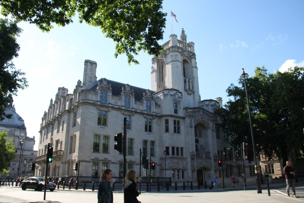 The Supreme Court, Westminster in London, England