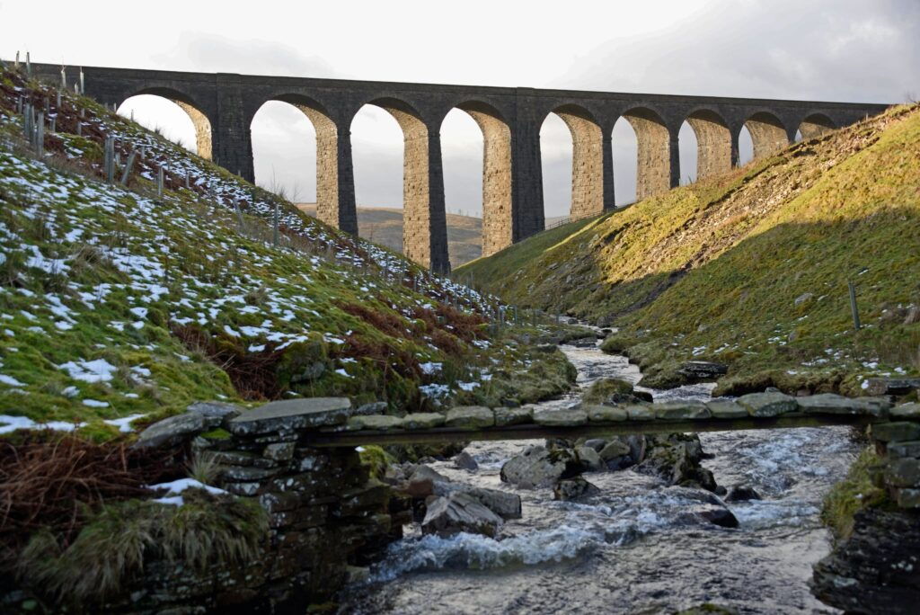 Arten Gill Viaduct in Sedburgh, Yorkshire Dales National Park in England Miss Potter Film Location