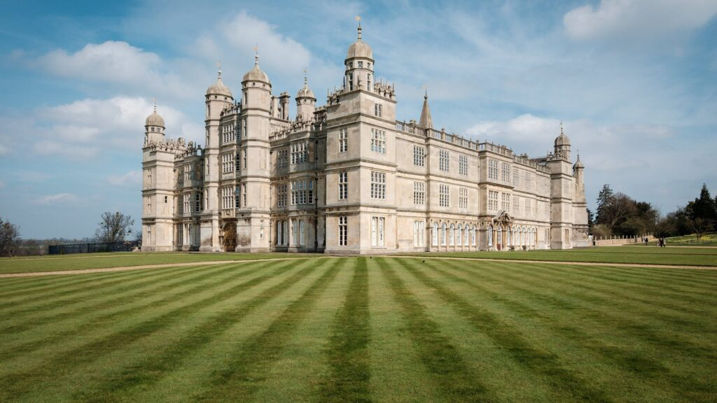 Burghley House in Stamford, Lincolnshire in England Pride and Prejudice Filming Location