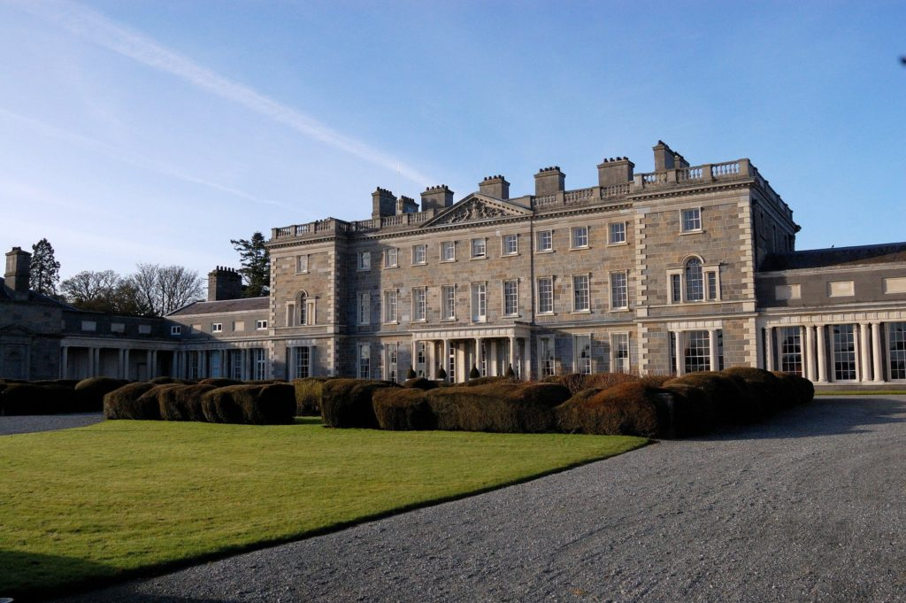 Carton House Hotel in County Kildare, Ireland Leap Year Filming Location