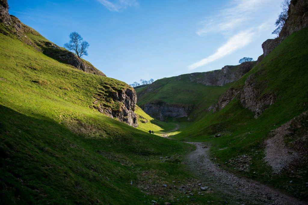 Cave Dale in Hope Valley, Derbyshire in England The Princess Bride Filming Location