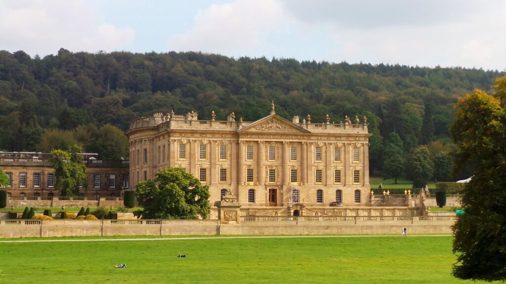 Chatsworth House in Bakewell, Derbyshire Pride and Prejudice Filming Location
