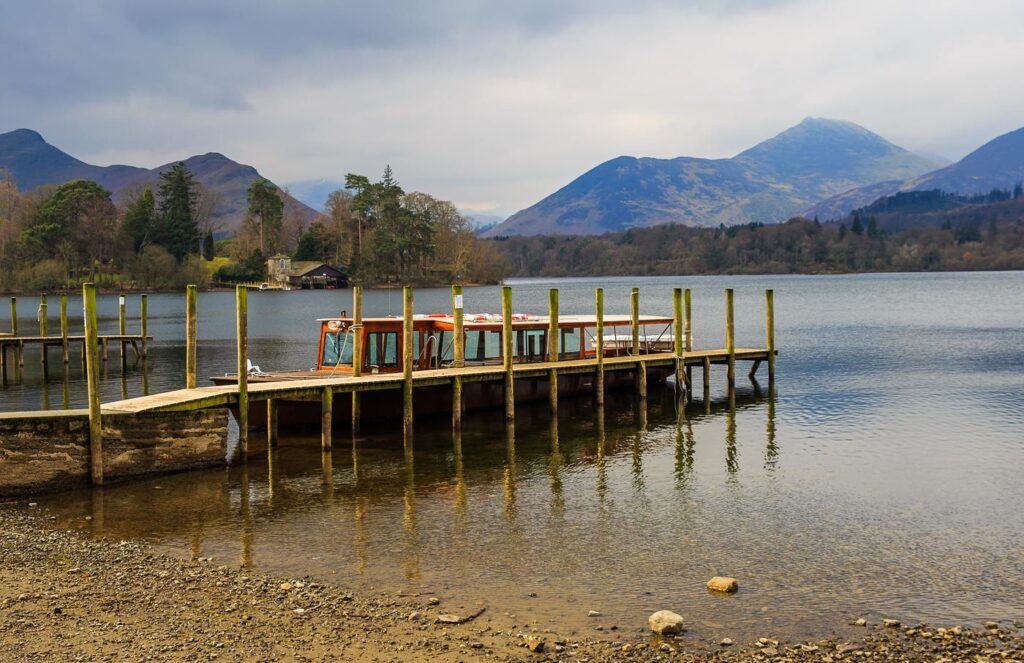Derwentwater in Keswick, the Lake District in England Miss Potter Film Location