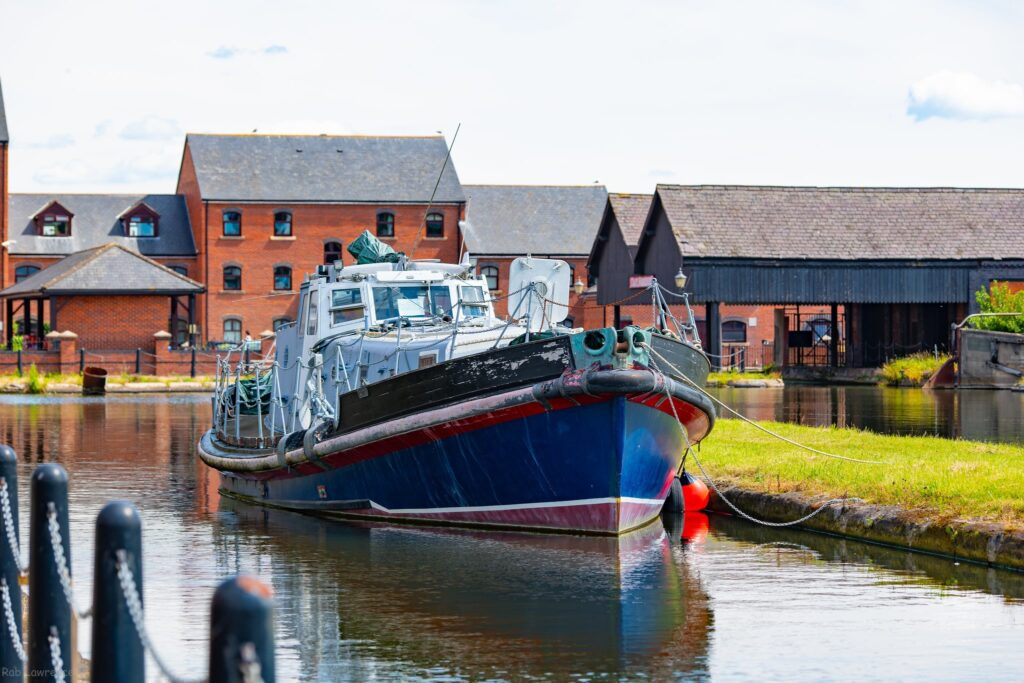 Ellesmere Port in Cheshire, UK