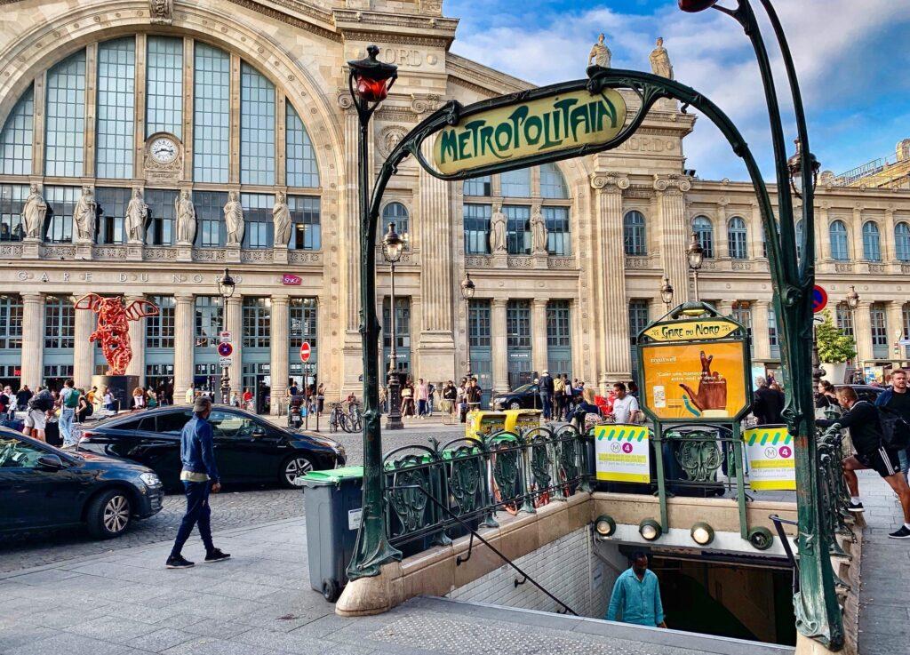 Gare du Nord in Paris, France Ocean's Twelve Filming Location