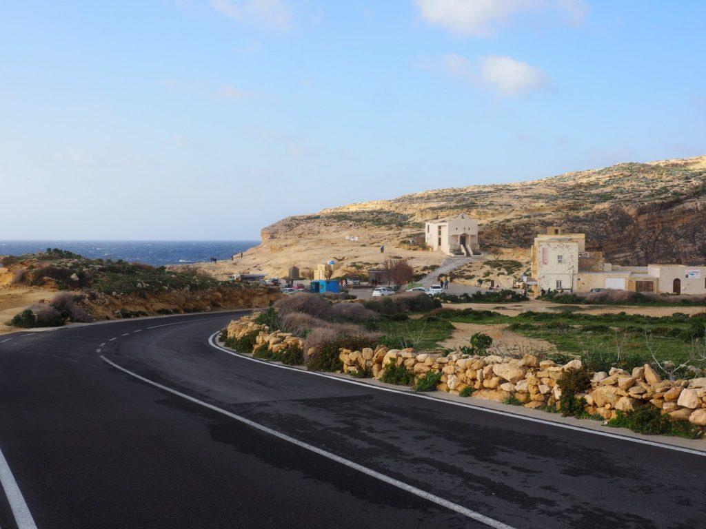 Road in Gozo, Malta